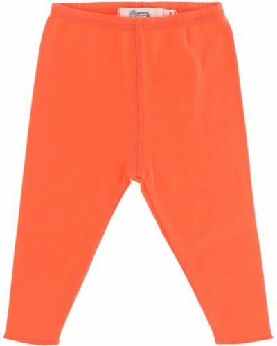 Pomarańczowe legginsy Bonpoint