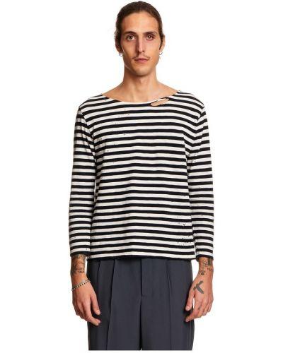 Czarny t-shirt z długimi rękawami Garçons Infideles