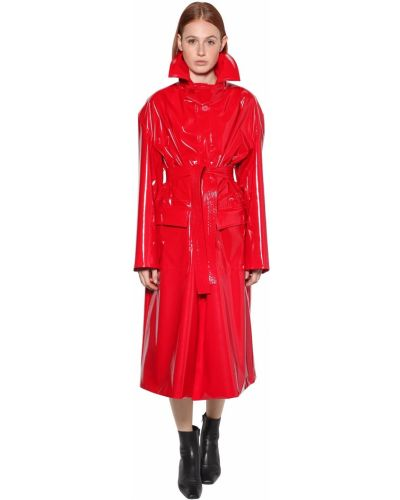 Куртка виниловая на пуговицах Balenciaga