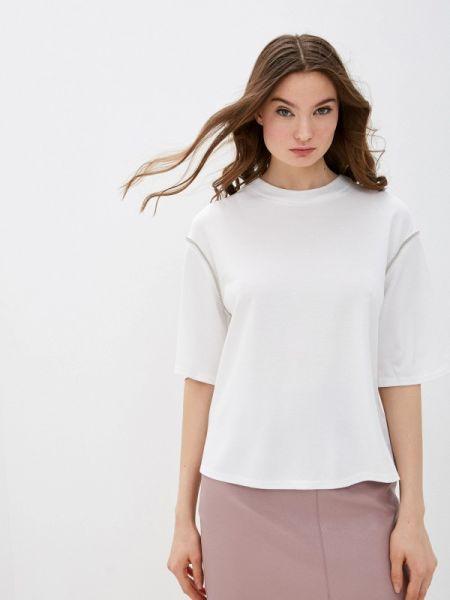 Блузка с длинным рукавом белая весенний Zarina