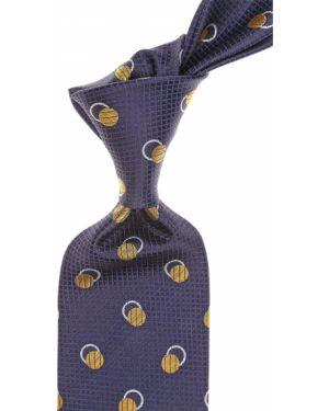 Złoty krawat - szary Gianni Versace
