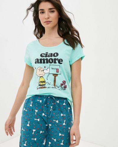 Зеленая пижама Nymos