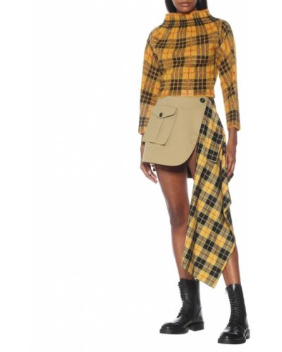 Горчичный свитер из мохера Monse