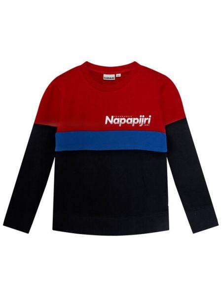 Niebieski dres Napapijri