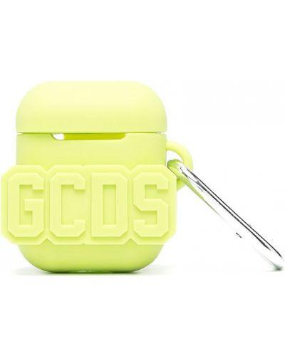 Zielony silikon etui na klucze na hakach wytłoczony Gcds
