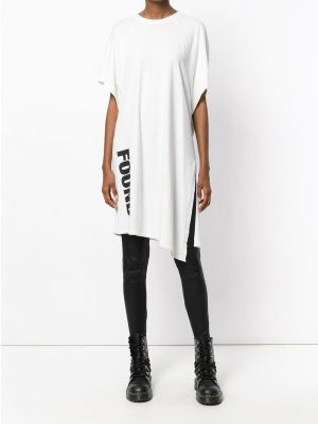 Хлопковая футболка - белая Lost & Found Rooms