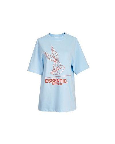 Хлопковая футболка Essentiel