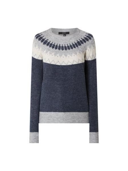 Sweter wełniany - niebieski Vero Moda