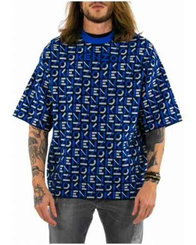 T-shirt oversize krótki rękaw z printem Kenzo