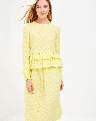 Желтое платье весеннее Trendyangel