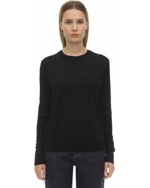 Шерстяной свитер - черный Falke