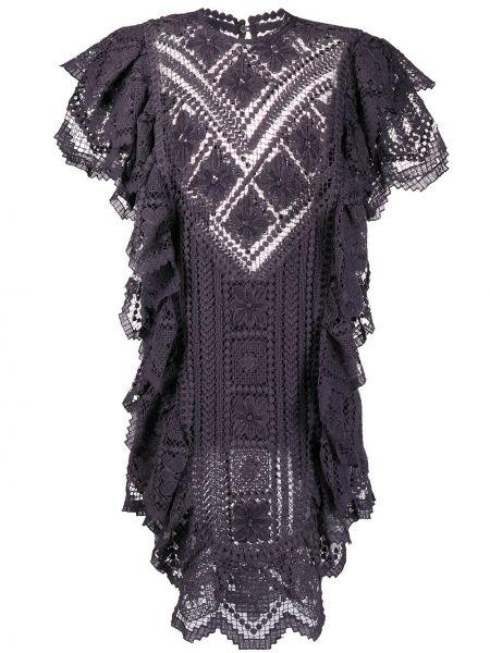 Sukienka dla wysokich kobiet z falbankami Isabel Marant
