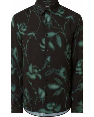 Koszula z wiskozy - czarna The Kooples