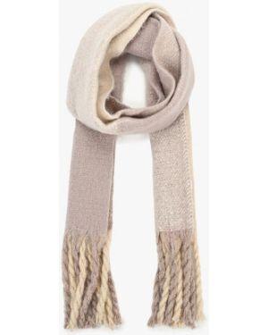 Бежевый шарф осенний Marks & Spencer
