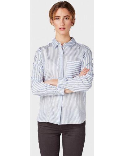 Рубашка с длинным рукавом голубой индийский Tom Tailor