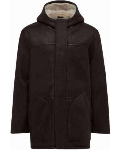 Куртка с капюшоном - коричневая Schott