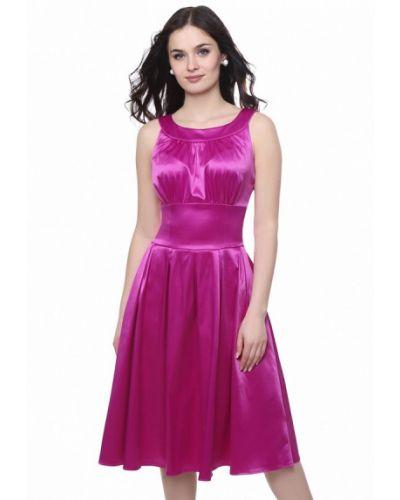 Розовое коктейльное платье Grey Cat