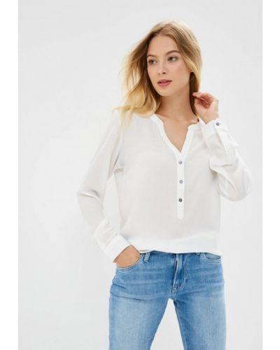 Блузка с длинным рукавом белая Jacqueline De Yong