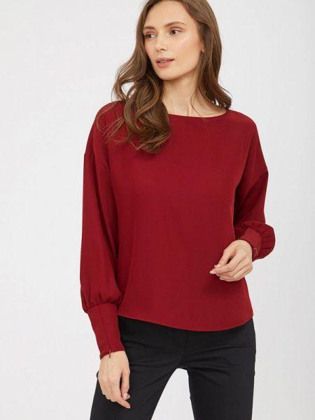 Блузка с длинным рукавом весенний красная Calista