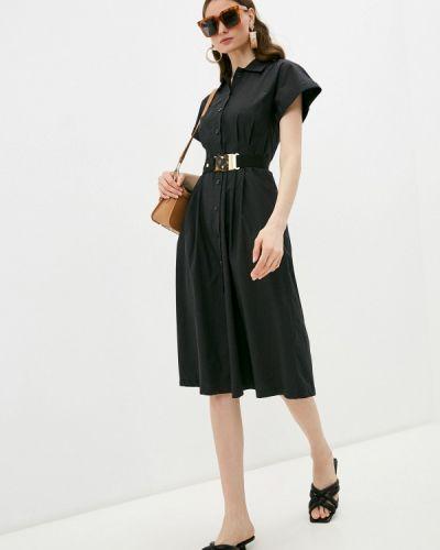 Черное платье-рубашка Seventy