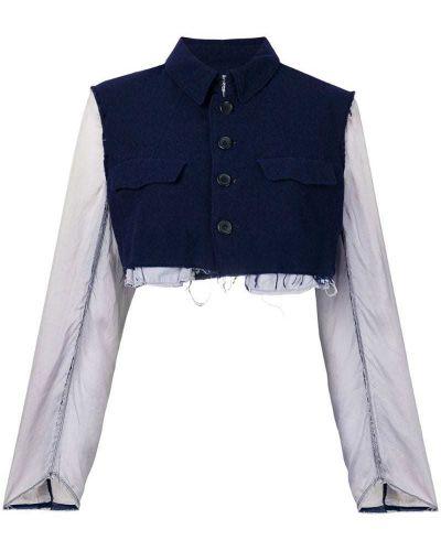 Синяя короткая куртка Comme Des Garçons Pre-owned