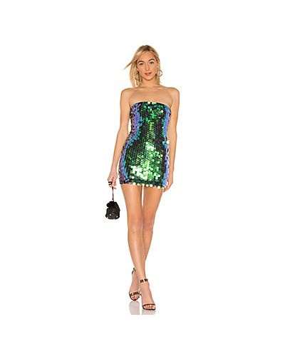 Платье мини с пайетками на молнии By The Way.