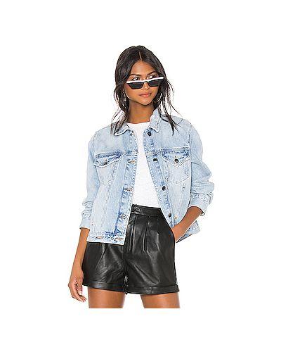 Джинсовая куртка на пуговицах с карманами Frame