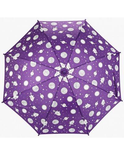 Фиолетовый зонт-трость Goroshek