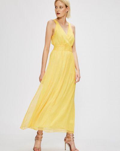 Платье макси с запахом однотонное Silvian Heach