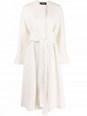 Шерстяное пальто - белое Rochas