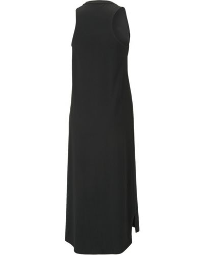 Черное весеннее платье Puma