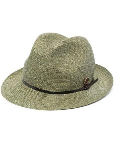 Зеленая шапка узкого кроя Catarzi