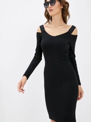 Черное платье осеннее Guess Jeans