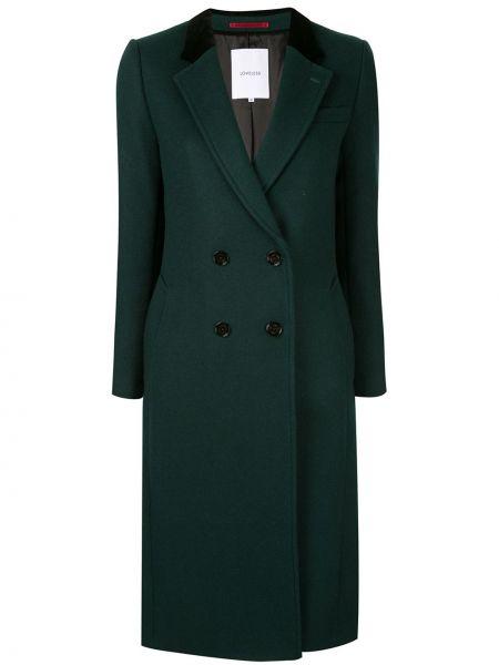 Прямое приталенное шерстяное длинное пальто Loveless