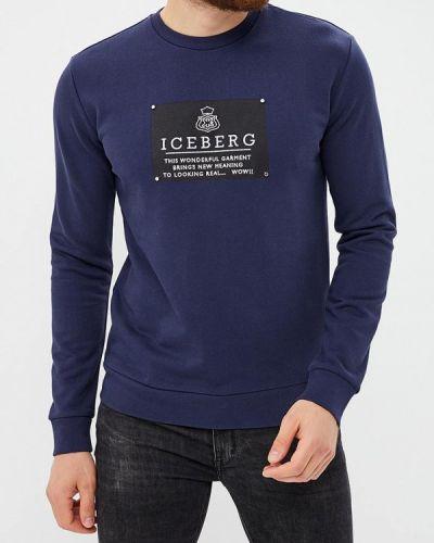 Синий свитшот Iceberg