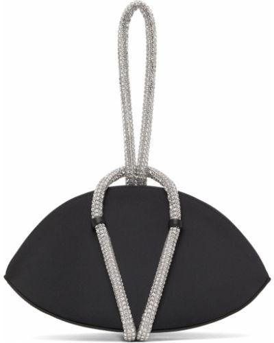 Kopertówka srebrna - czarna Kara