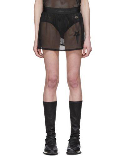 Юбка мини на резинке юбка-шорты Rick Owens