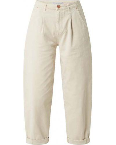 Beżowe spodnie bawełniane Catwalk Junkie