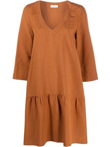 Платье с заниженной талией с V-образным вырезом Altea
