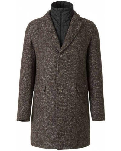 Płaszcz - brązowy Herno