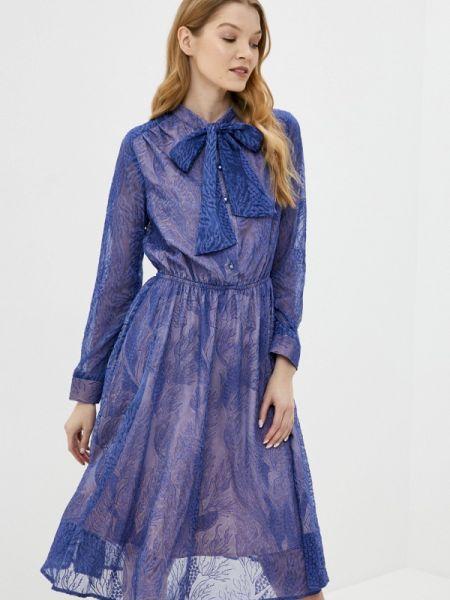 Платье осеннее прямое Ricamare