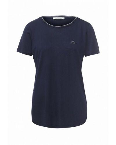 Синяя футболка Lacoste