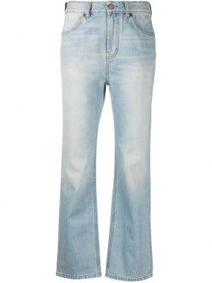 Расклешенные синие джинсы на молнии Victoria, Victoria Beckham