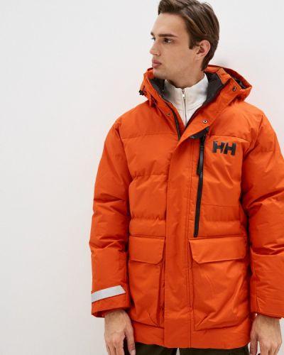 Оранжевая куртка осенняя Helly Hansen