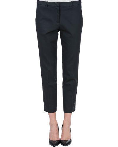 Брюки из вискозы хлопковые Armani Jeans
