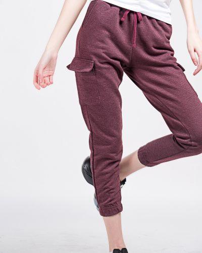 Хлопковые серые спортивные брюки Samo