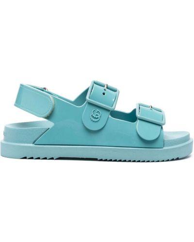 Sandały - niebieskie Gucci