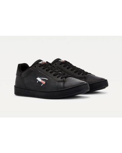 Czarne klasyczne trampki Tommy Jeans
