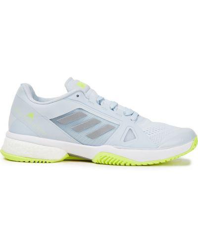 Синие кроссовки на шнуровке сетчатые Adidas By Stella Mccartney
