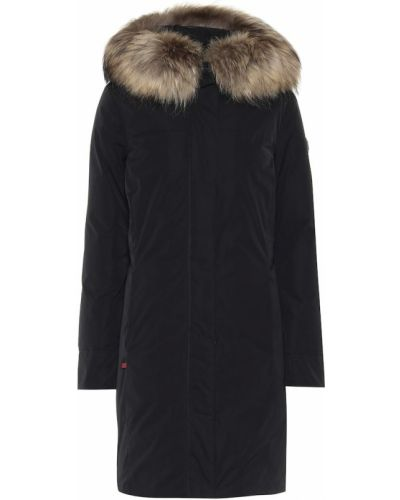 Зимнее пальто био пух с енотом Woolrich